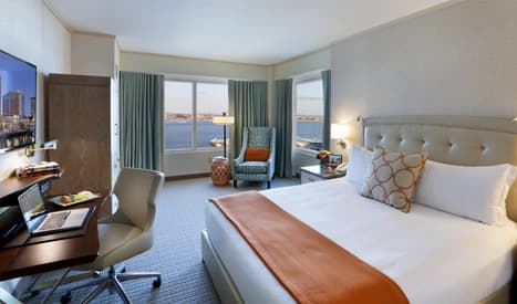 1 King Bed Guest Rooms (Harbor View King) at Seaport Boston Hotel