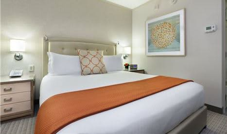 Seaport Boston Hotel 1 King Bed Guest Rooms (Deluxe)