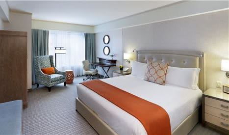 1 King Bed Guest Rooms (Premier) at Seaport Boston Hotel