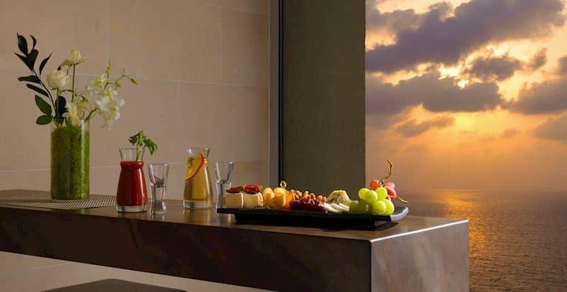 Club Lounge Sunset