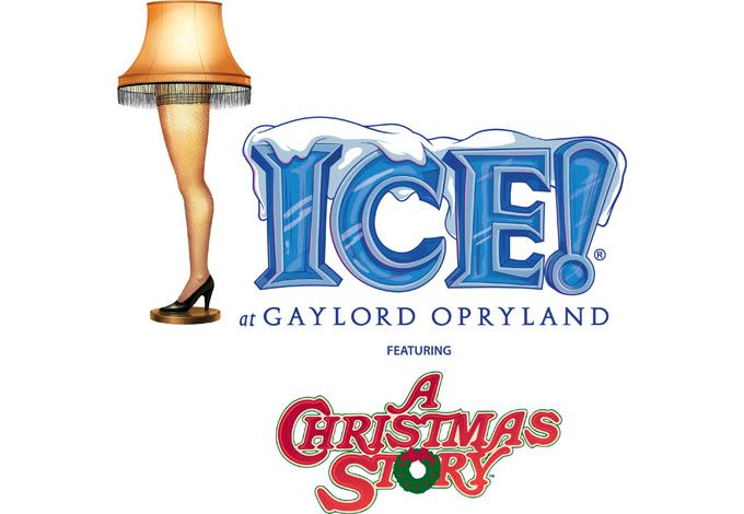 ICE featuring A Christmas Story at Gaylord Opryland Resort