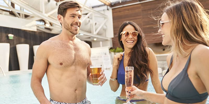 SoundWaves at Gaylord Opryland, Nashville offers Adult Only Areas