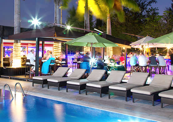 Poolside Venue at South Beach Hotel Christ Church, Barbados