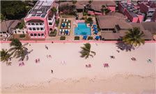 hotel view from dron