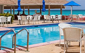 Outdoor Pool & Gym at Southern Palms Beach Club, Christ Church