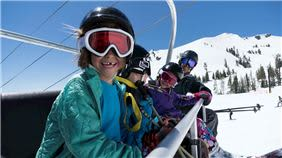 Family Chairlift Ride at Squaw Valley Resort