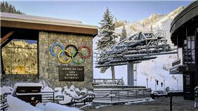 Squaw Valley Resort, Home of the 1960 Winter Olympics at Olympic Valley,California