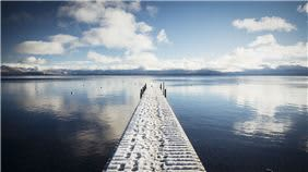 Lake Tahoe Pier, California