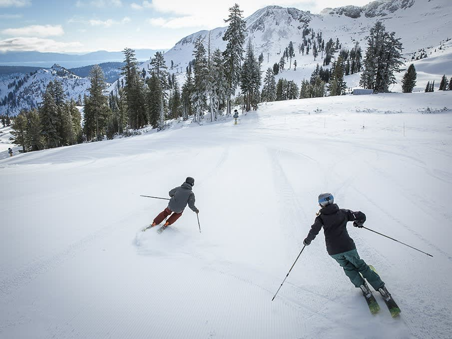 Lake Tahoe Cross Country Skiing, California