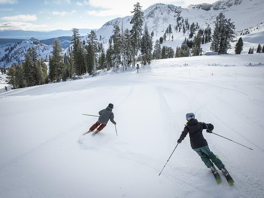Lake Tahoe Cross Country Skiing, California