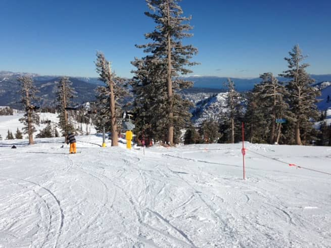 December Snow: This Week at Squaw Valley