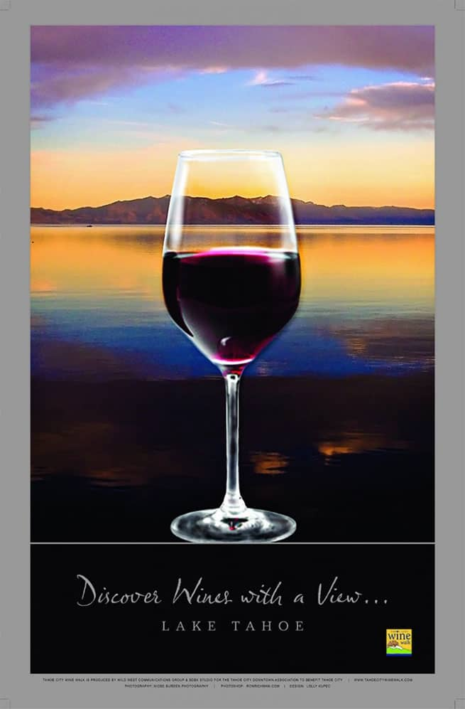Lake Tahoe June Events: Tahoe City Wine Walk