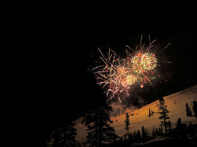 New Year's Eve at North Lake Tahoe