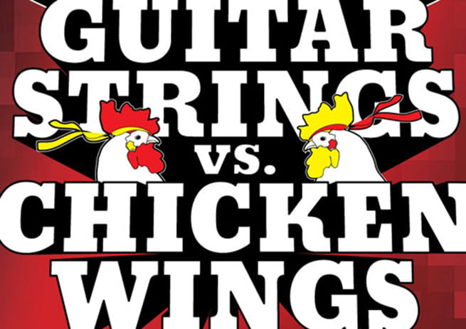 Pluck or Cluck: Guitar Strings vs. Chicken Wings