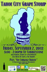 Tahoe City Grape Stomp
