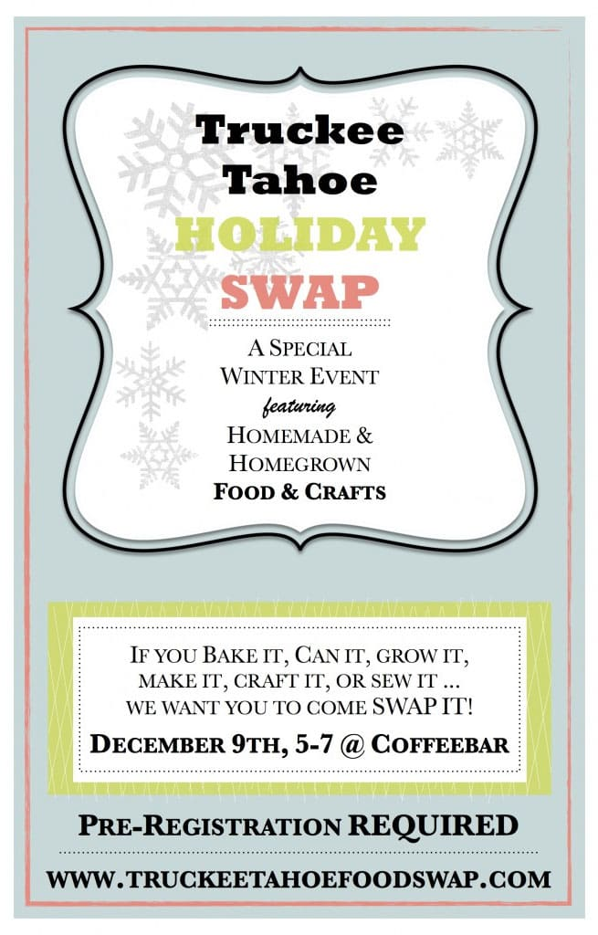 Truckee Tahoe Holiday Swap