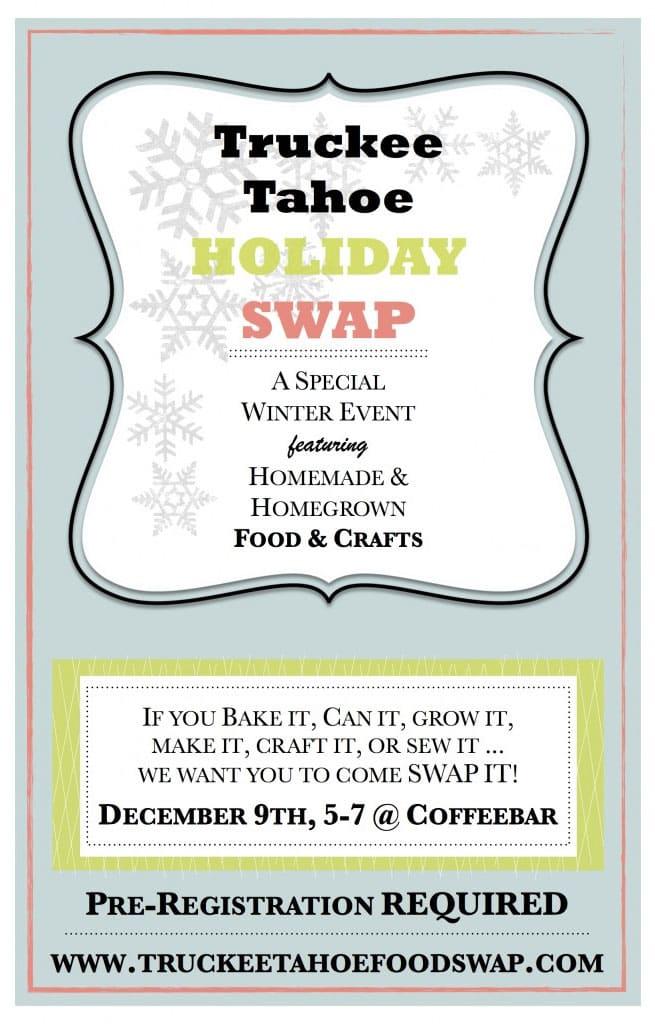 Truckee Tahoe Holiday Swap