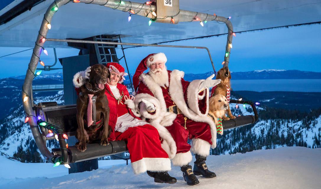 Santa's Brunch at Squaw Valley