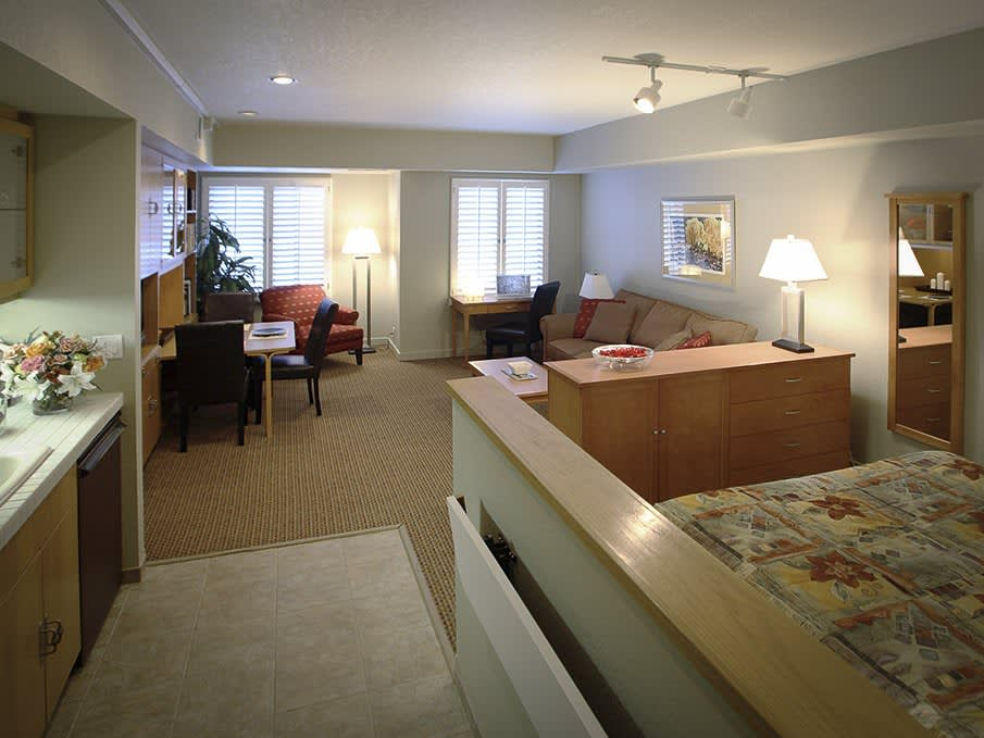 Deluxe Studio Suite at Squaw Valley Lodge, Olympic Valley
