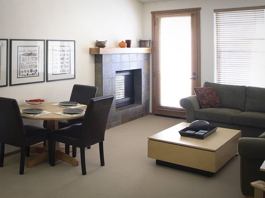 Premium One Bedroom Suite in Squaw Valley Lodge, Olympic Valley