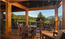 Stoneridge Resort - BBQ Porch