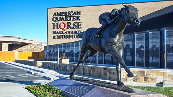 American Quarter Horse Hall of Fame & Museum in Amarillo