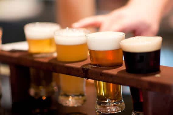 Brewery and Winery Tours at Delaware