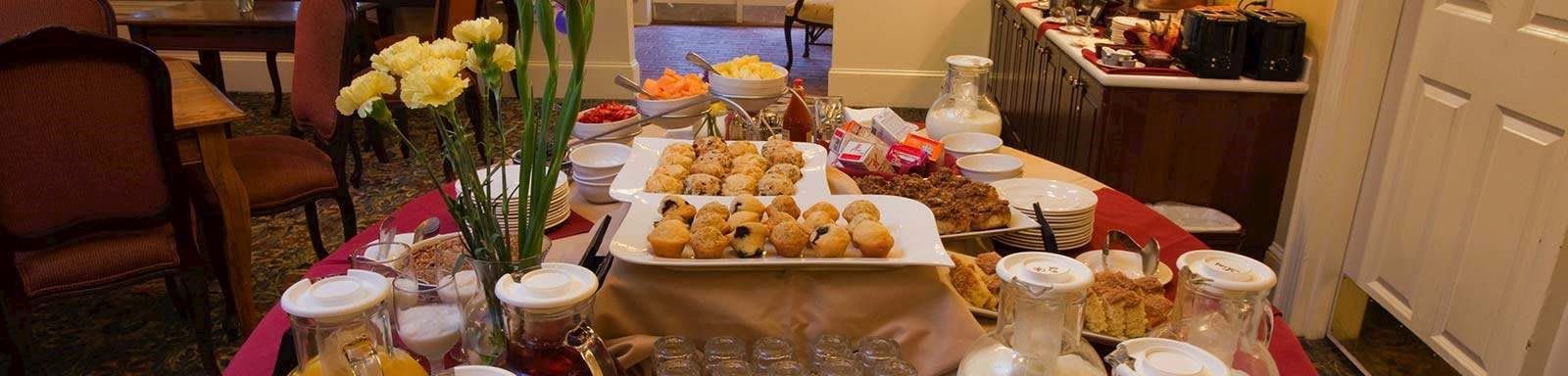 Dining at The Bellmoor Inn and Spa Hotel, Delaware