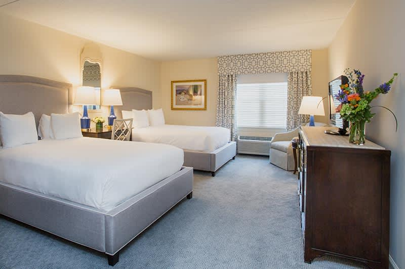 Deluxe Double Queen at The Bellmoor Inn and Spa Hotel, Delaware