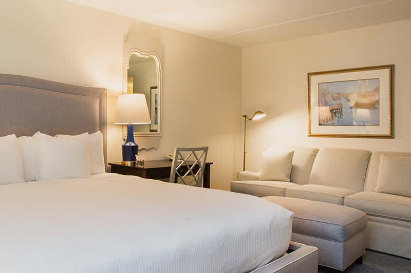 Deluxe King with Sofa Bed at The Bellmoor Inn and Spa Hotel, Delaware