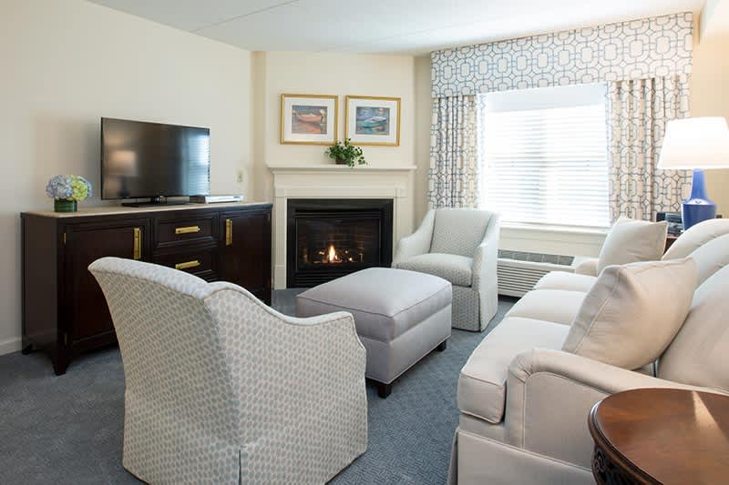 One Bedroom Suite at The Bellmoor Inn and Spa Hotel, Delaware