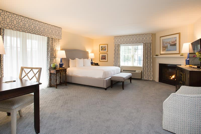 The Bellmoor Inn and Spa Hotel, Delaware Junior Suite with Balcony