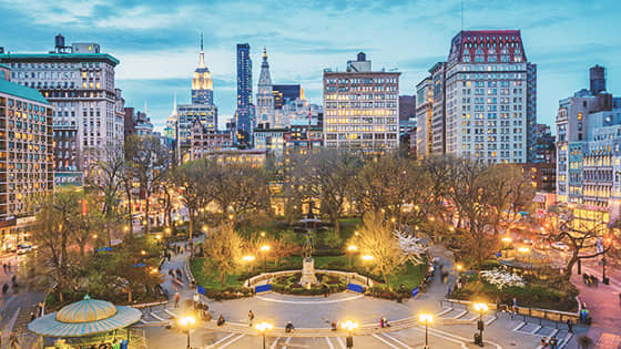 Union Square in New York