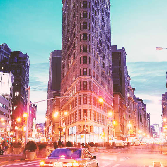 NYC's historic Flatiron Building