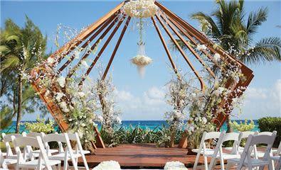 wedding gazebo the fives beach