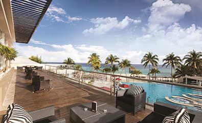 The Fives Beach Hotel - Zky - Lobby Lounge & Bar Balcony