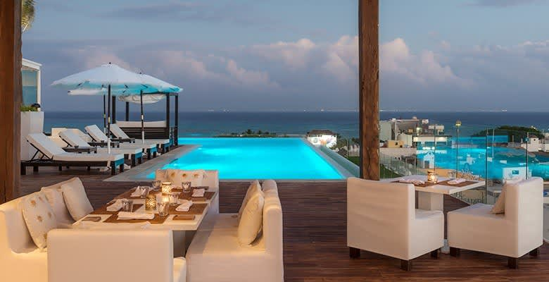 Five Downtown Hotel, Mexico offers Purobeach Rooftop