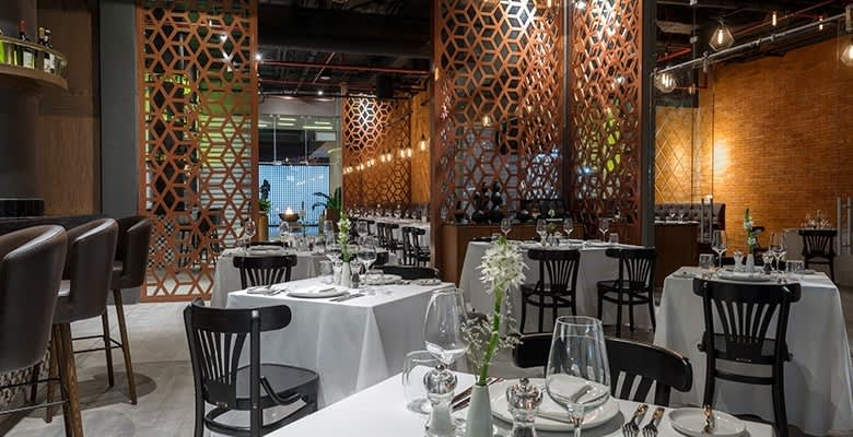 Mercatto Restaurant at The Five Downtown Hotel, Playa del Carmen