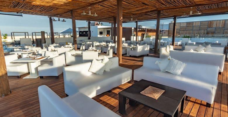 Fives Rooftop Restaurant at Playa del Carmen