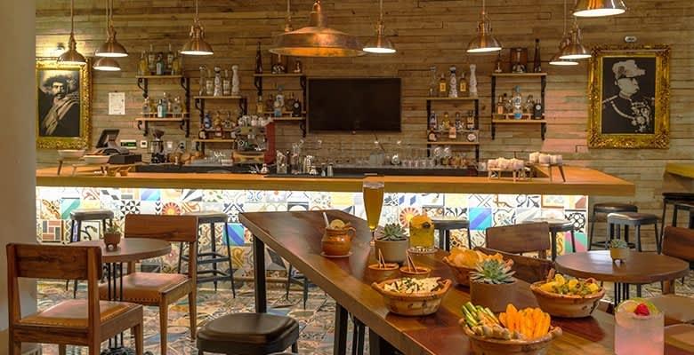 The Five Downtown Hotel, Playa del Carmen El Tigre Restaurant
