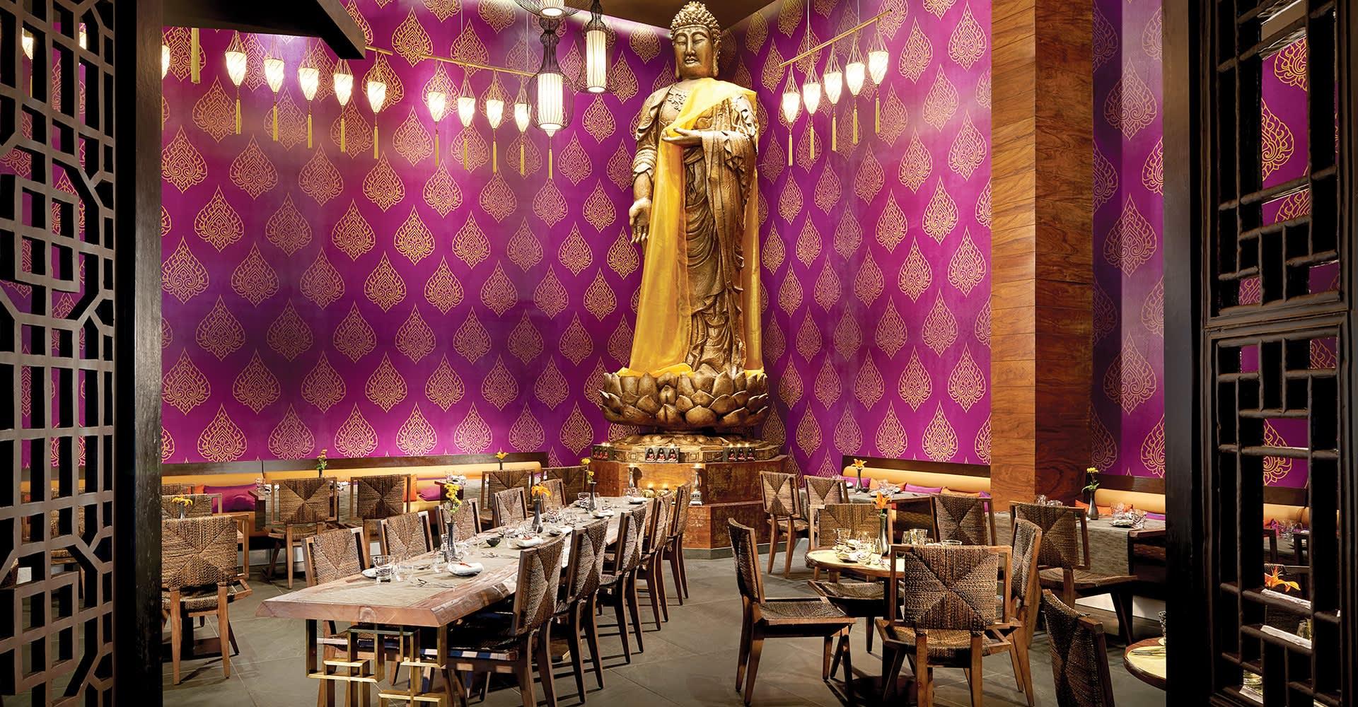 Koh Thai Restauarant at The Fives Beach Hotel, Playa del Carmen