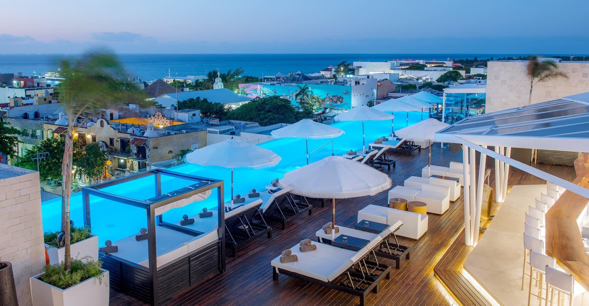 The Five Downtown, Playa del Carmen Dining Facilities