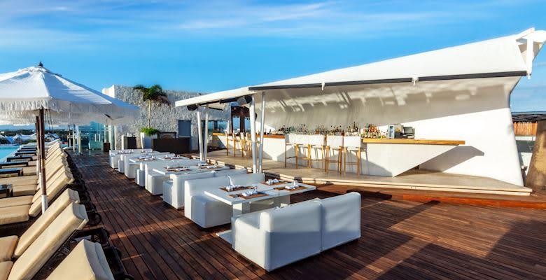 Purobeach Rooftop at Playa del Carmen Hotel