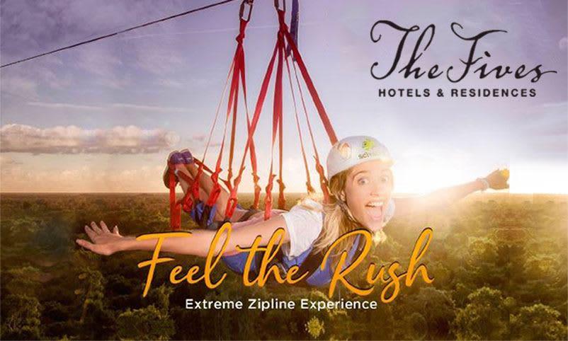 Playa Del Carmen Hotel Zipline Experience Feel the Rush
