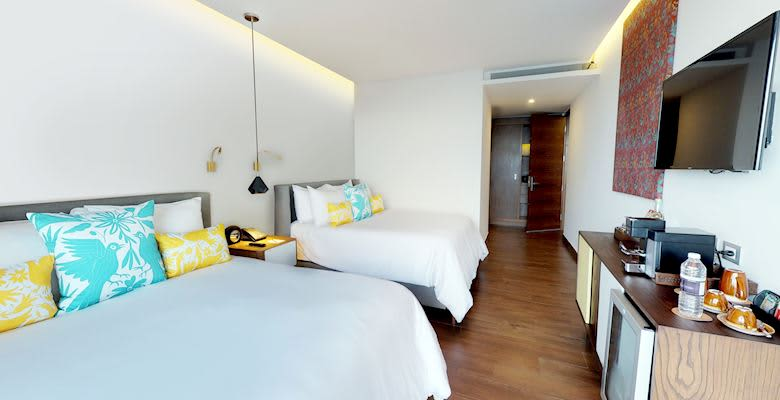 The Five Downtown, Playa del Carmen 2 Bedroom Suite with Whirlpool