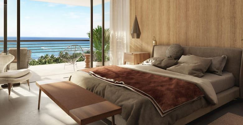 Deluxe Suite with balcony at The Fives Oceanfront - Puerto Morelos