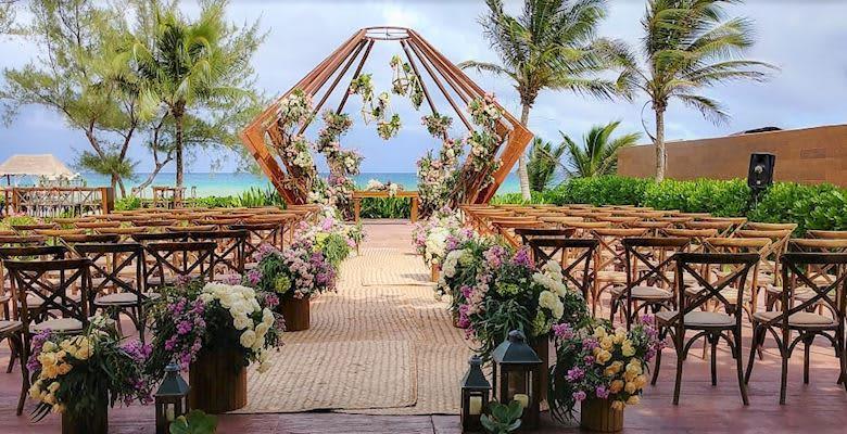 Beachfront Gazebo at Quintana Roo