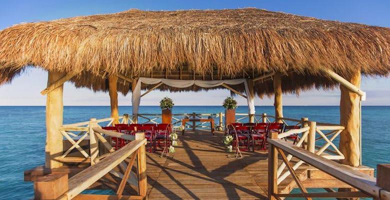 Sea Pier Gazebo at Quintana Roo