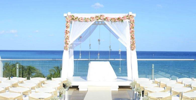 Sky Wedding Gazebo at Quintana Roo