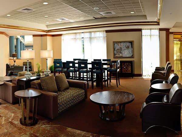 Lobby Space of Turf Valley Resort, Maryland
